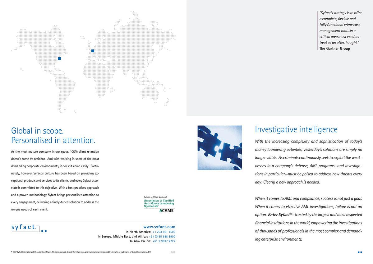 Syfact Brochure on Behance