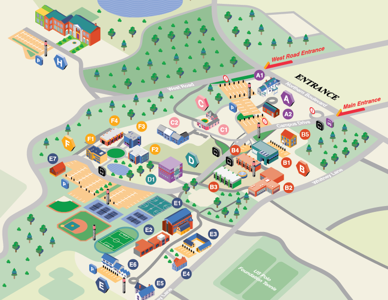 suny old westbury campus map New York Institute Of Technology Campus Map On Behance suny old westbury campus map