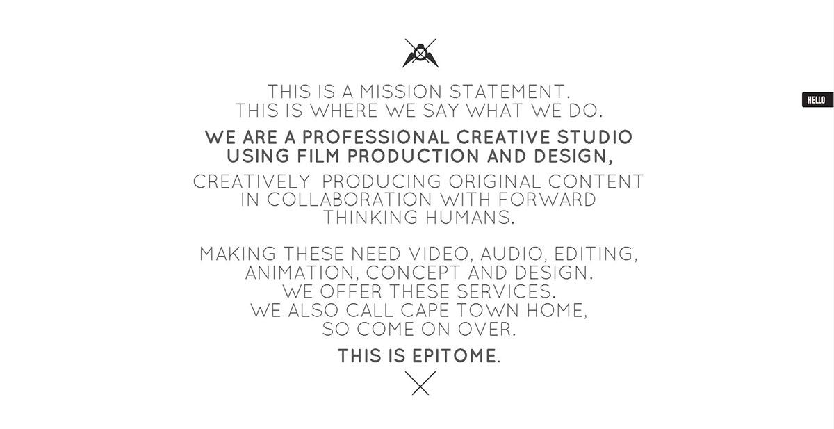 own logo Website design