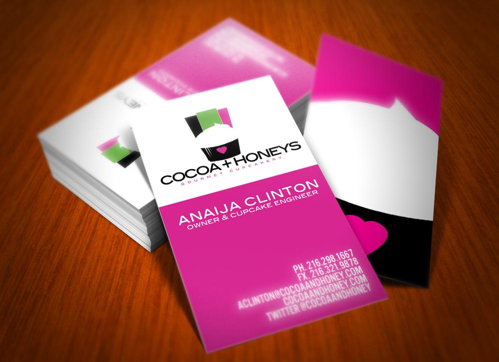 Marcus Coleman - Cocoa & Honey Cupcakes Brand Identity
