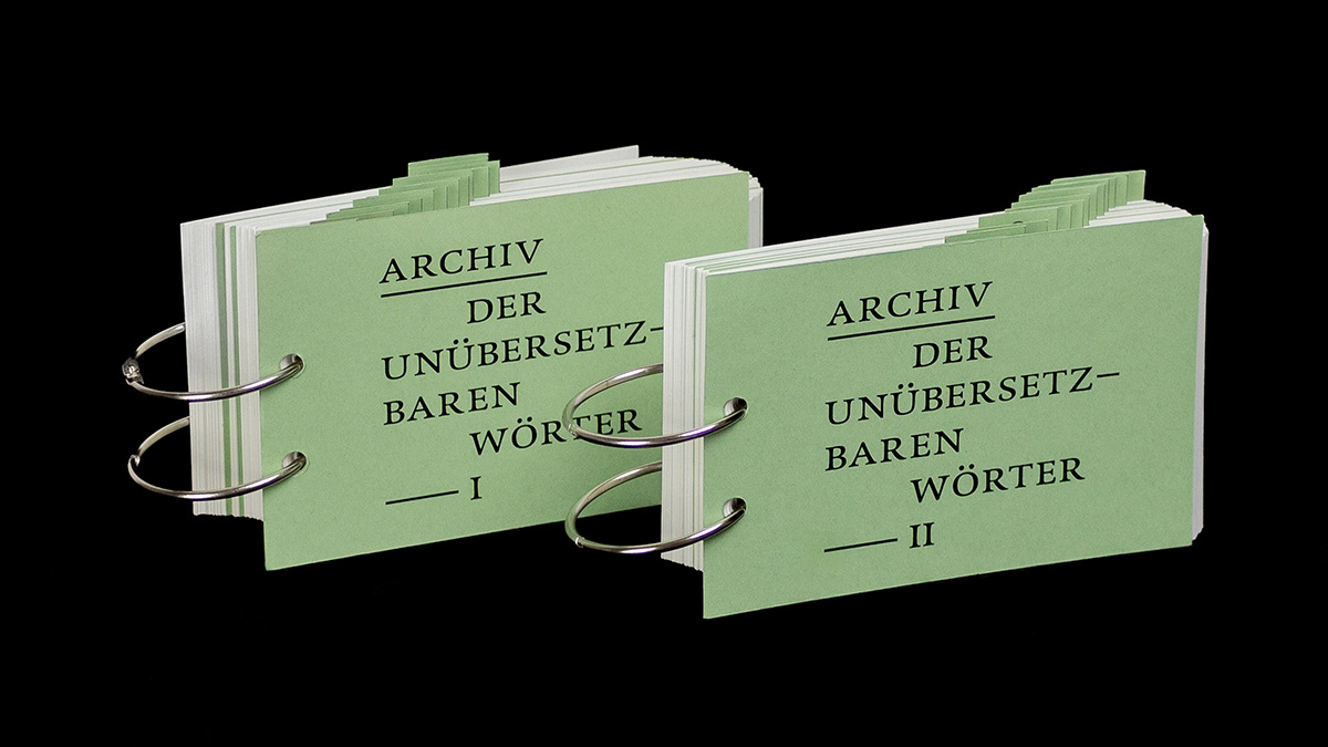 Books about Untranslatability