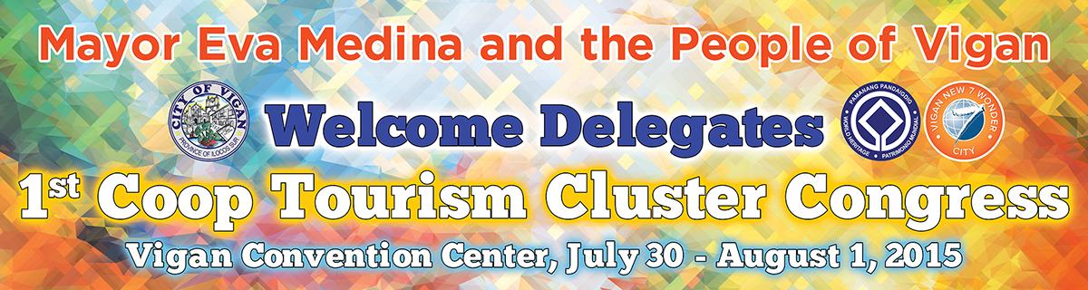tarpaulin design tourism Vigan City  Government