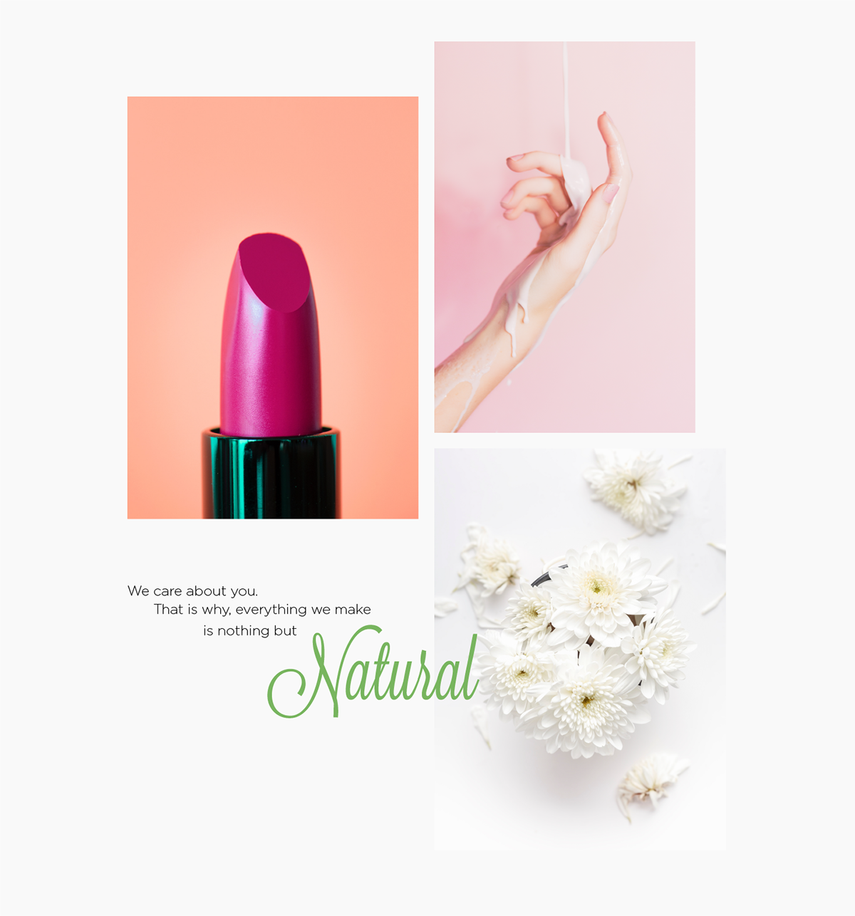 Fleur Cosmetics Beauty Brand Identity Design On Student Show