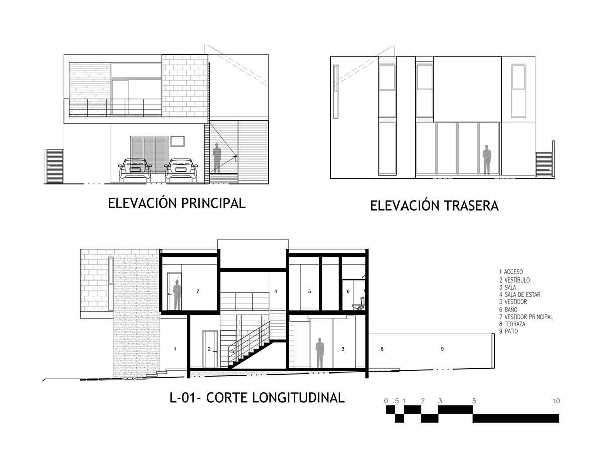 desarrollo development Residencial houseing design contemporary FRACCIONAMIENTO Project proyecto