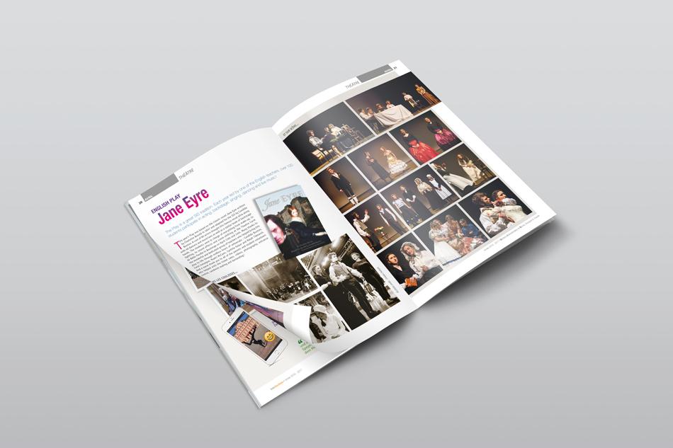 editorial magazine communication