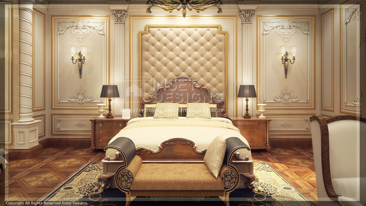 Royal Master Bedroom on Behance