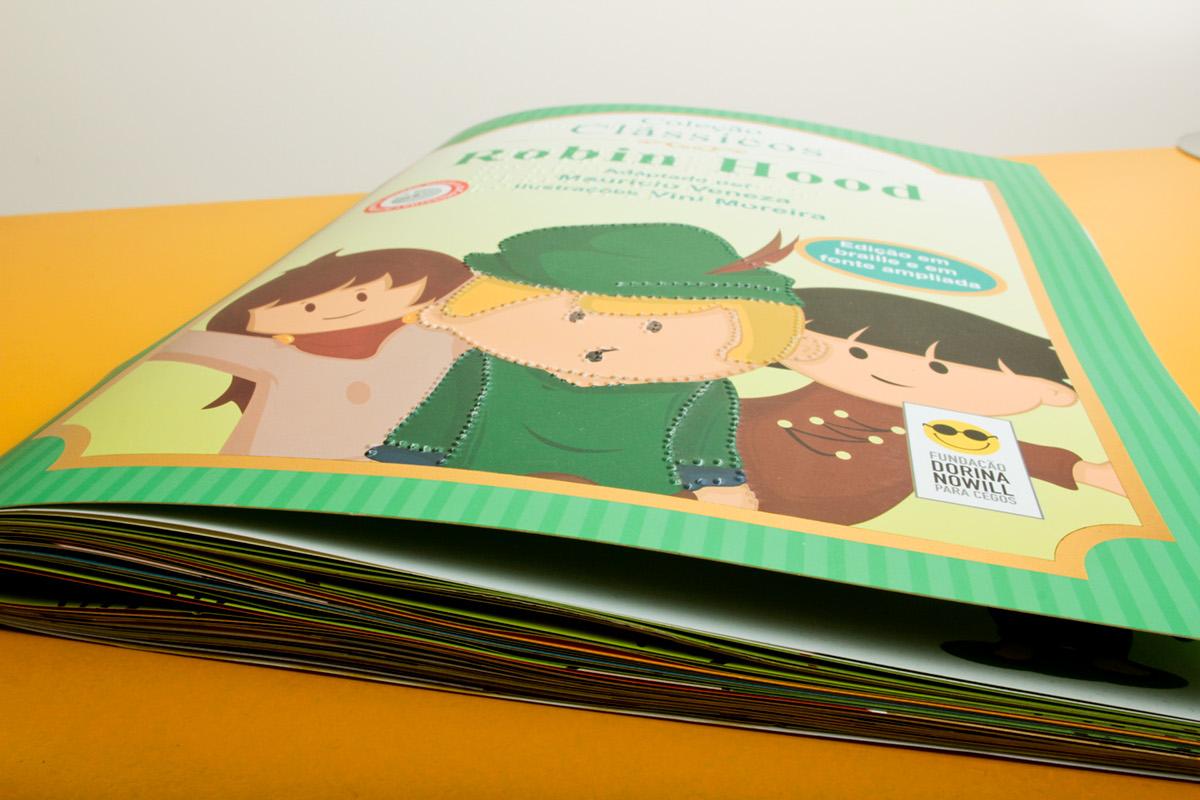 Robin WOOD book children kids color vector sketch comic Comix design Character Hero
