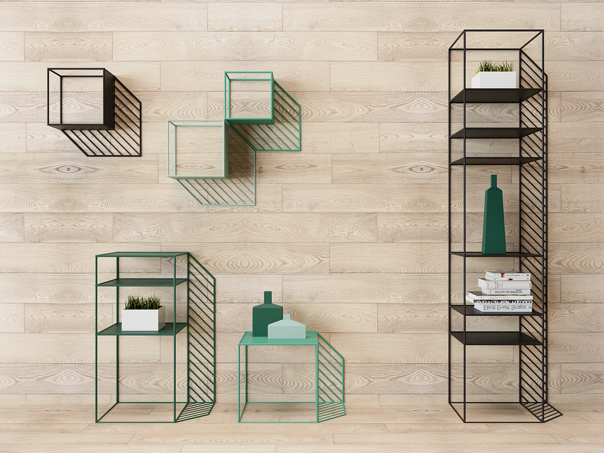Sunny furniture Collection frame wire