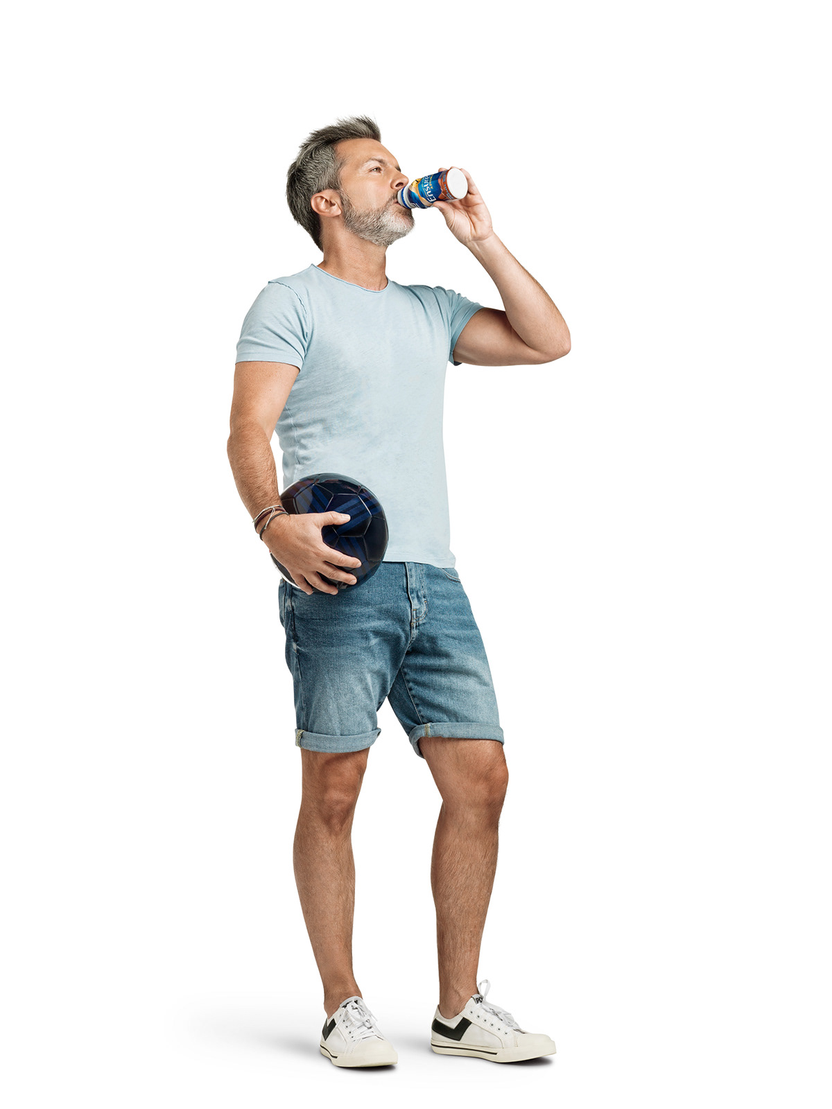 Image may contain: person, man and shorts