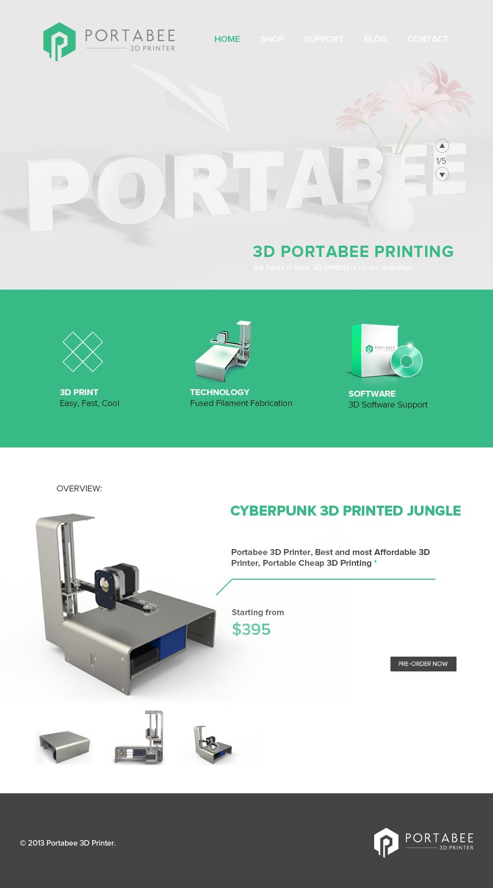 Portabee 3D Printer Portabee 3D printer