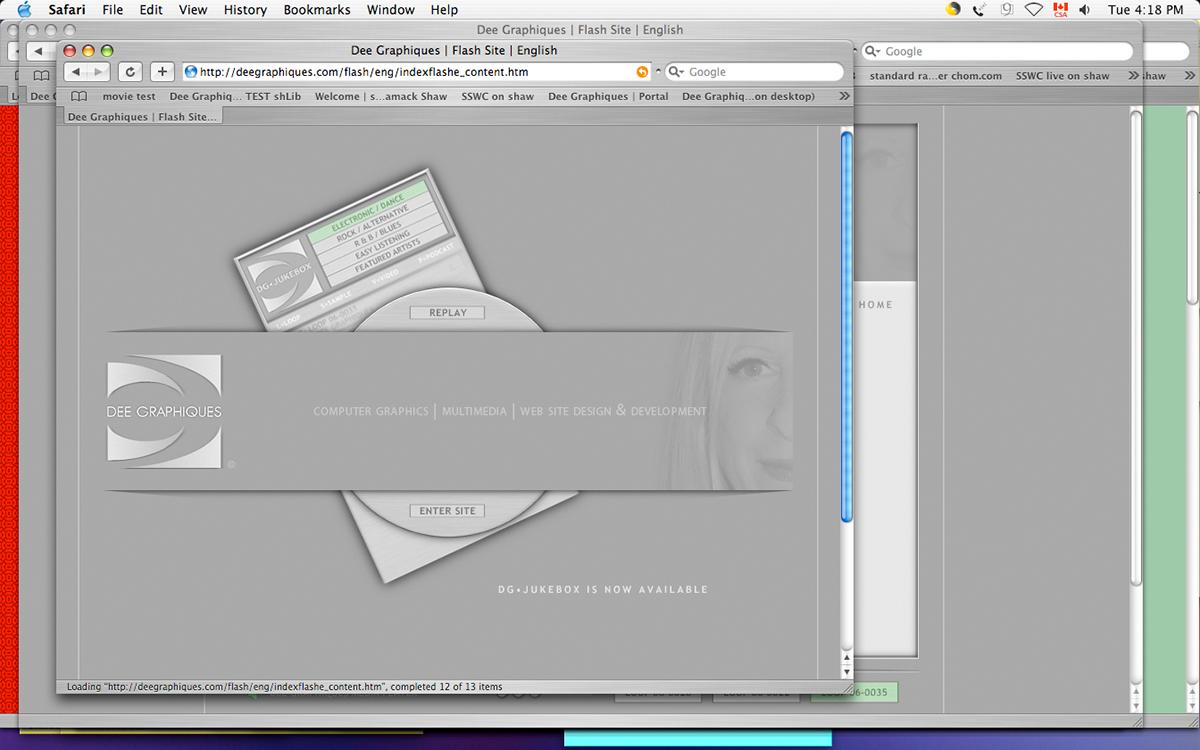 Website Design Flash On Behance