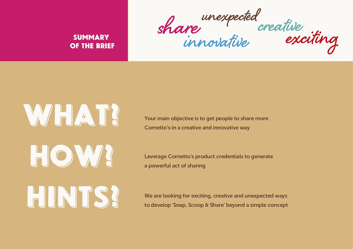 cornetto walls cornetto Creative Direction  ycn winner