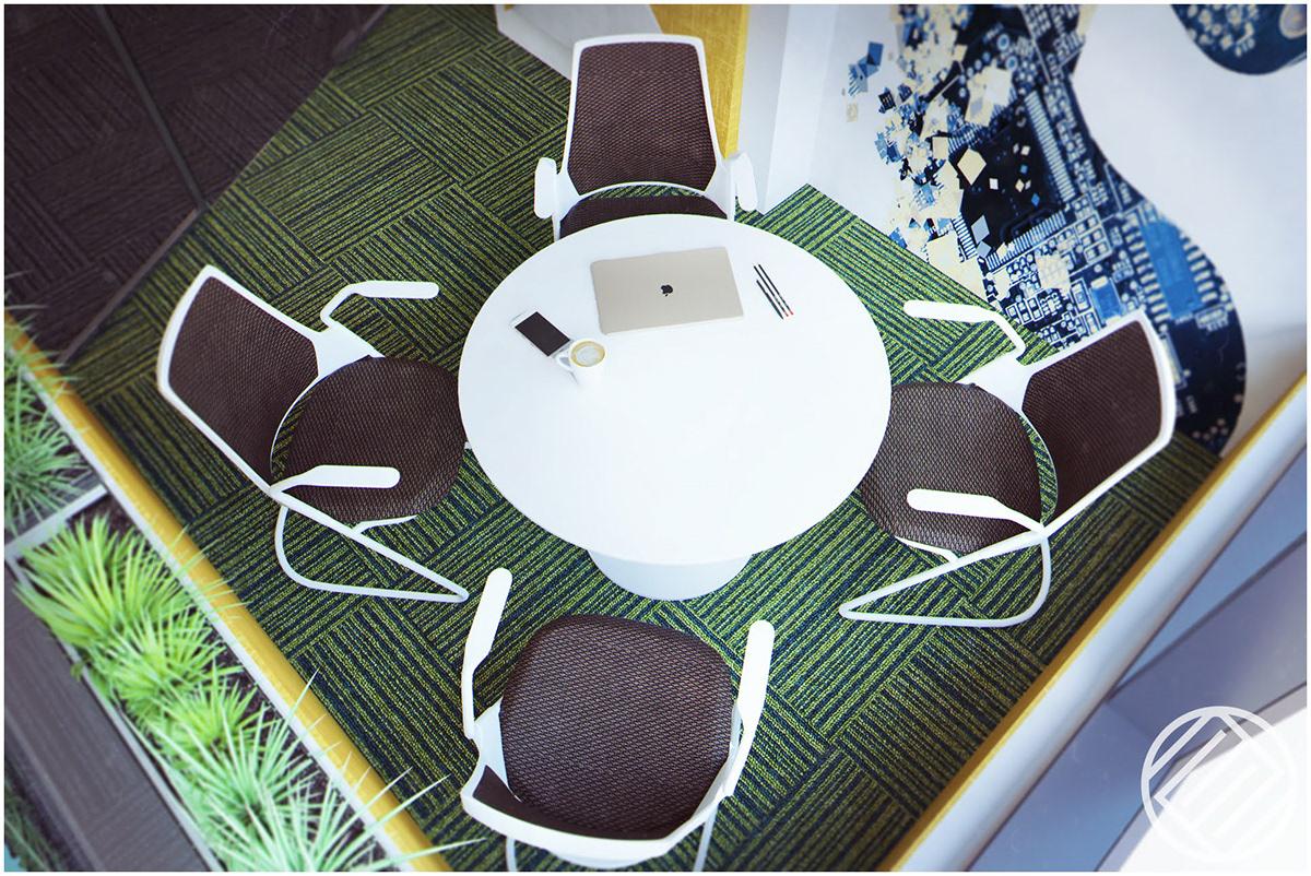 interior design  design visualisation Office Design