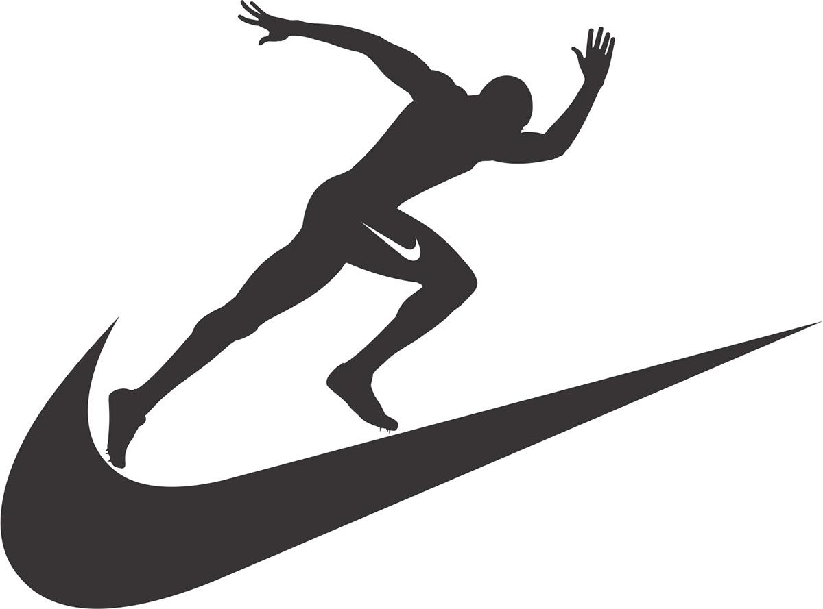 Decepción plato sin embargo  Nike Track & Field Logo on Behance