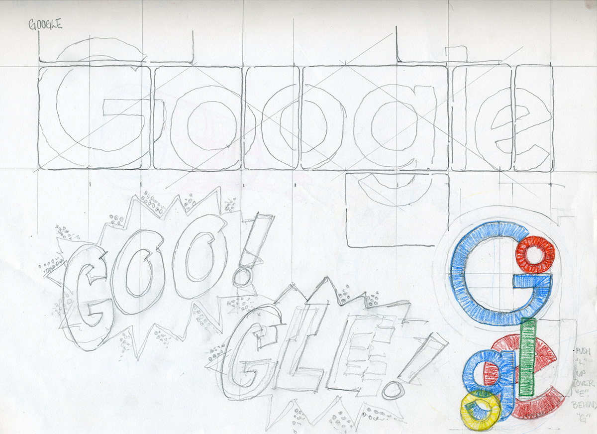 Google Doodle (Comic Book Day) on Behance