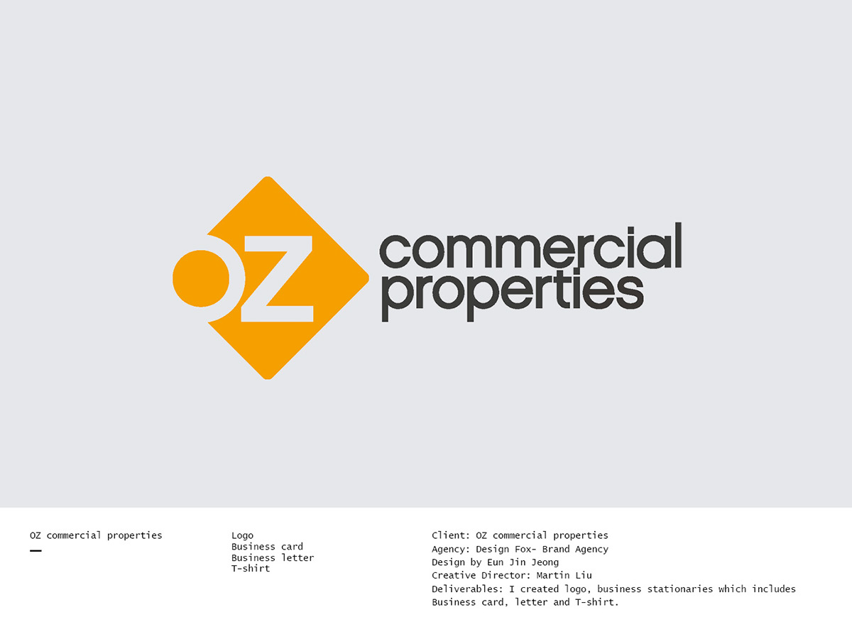 OZ commercial properties on Behance