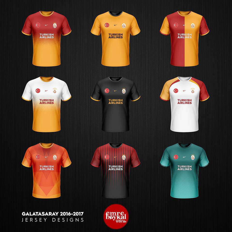 the best attitude 258a2 2a6ab Galatasaray SK Forma Tasarımları   Jerseys 2016-17 on Behance