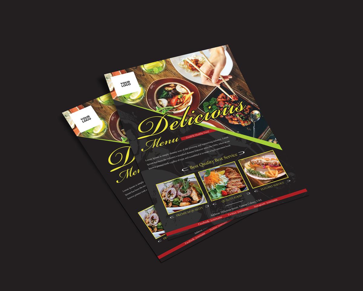 Free Food Restaurant Flyer Template