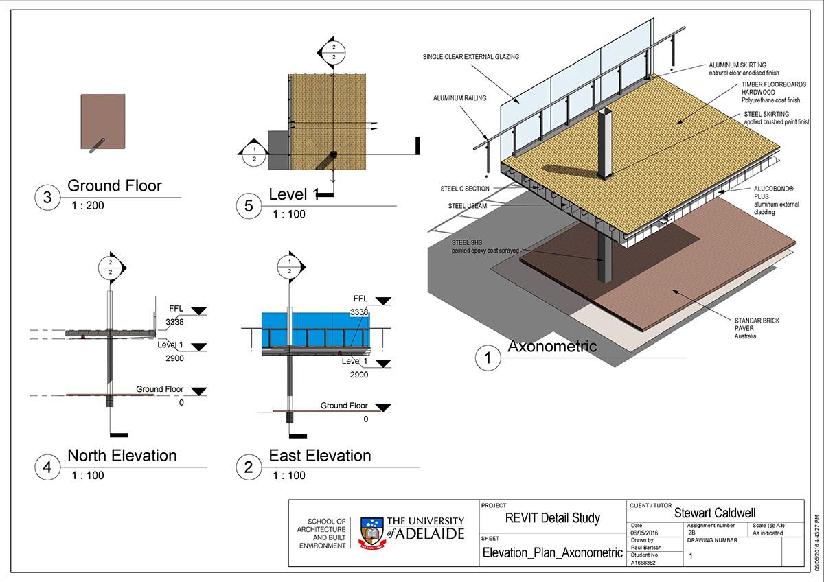 Bastyan Walkway Detail Study On Behance