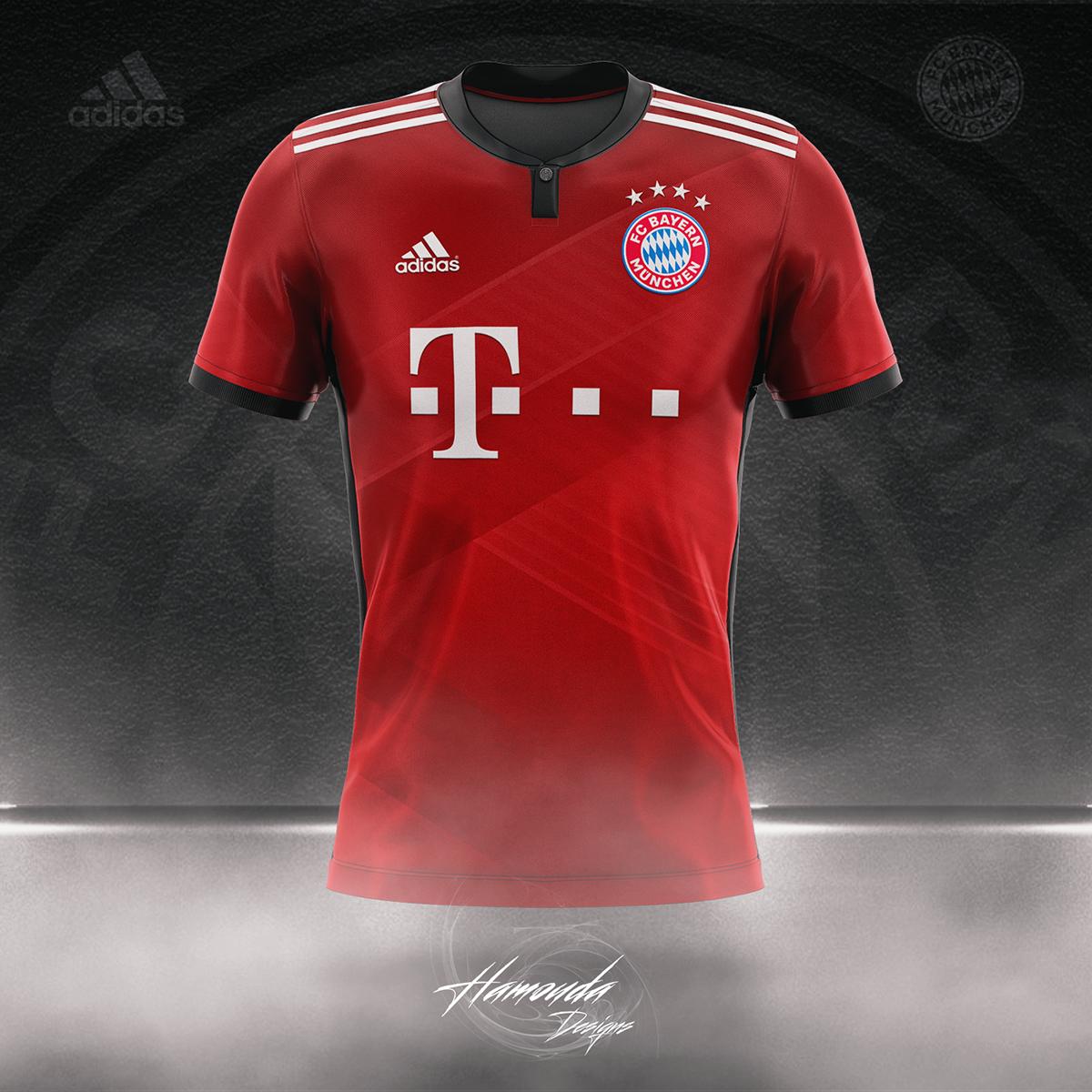 on sale 7eddd 1ad48 BAYERN MUNICH - Football Concept Kit 2018/2019 on Pantone ...