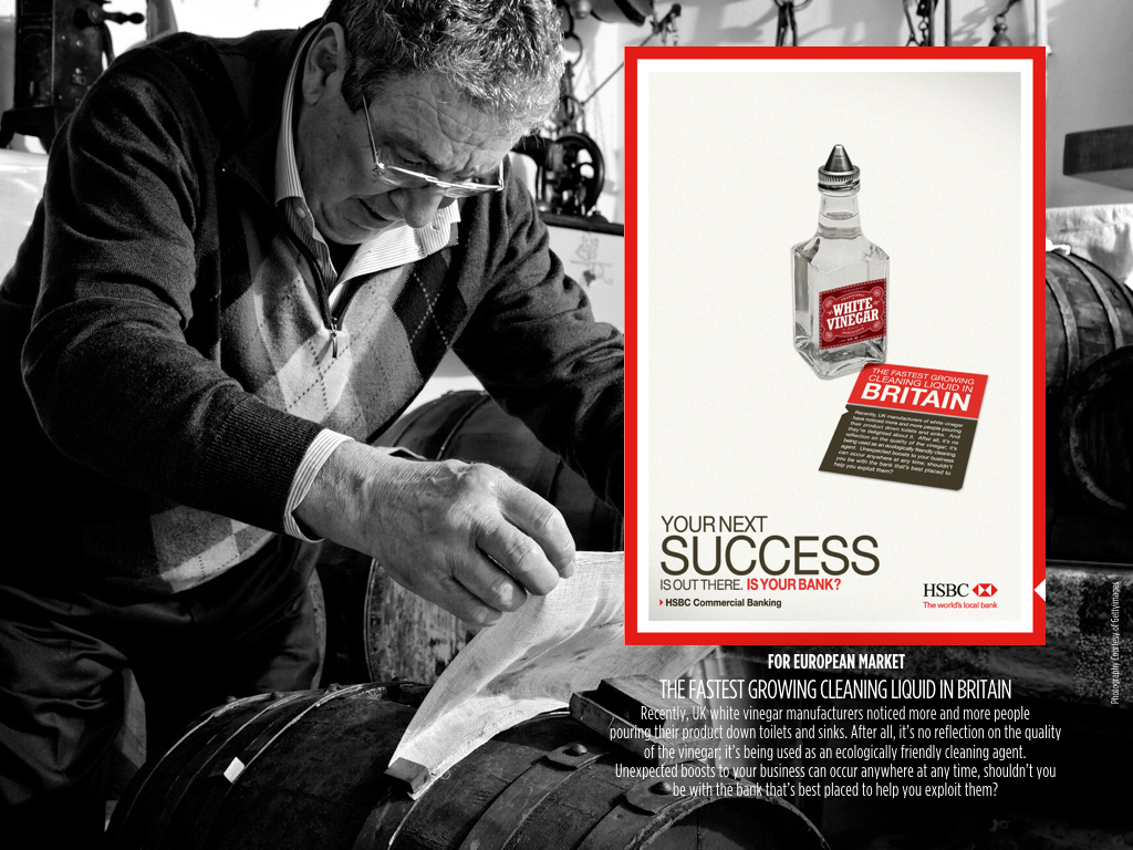 HSBC® Commercial Banking Global Brand Campaign 2008 on Behance
