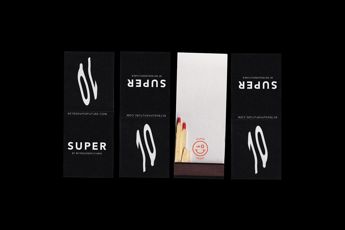 graphic design  party super flag Matches poster Invitation branding  Sunglasses eyewear