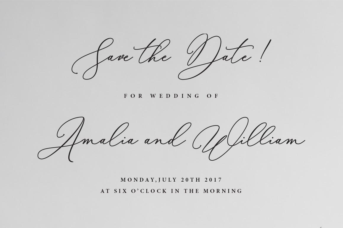 Шрифт для свадебных открыток