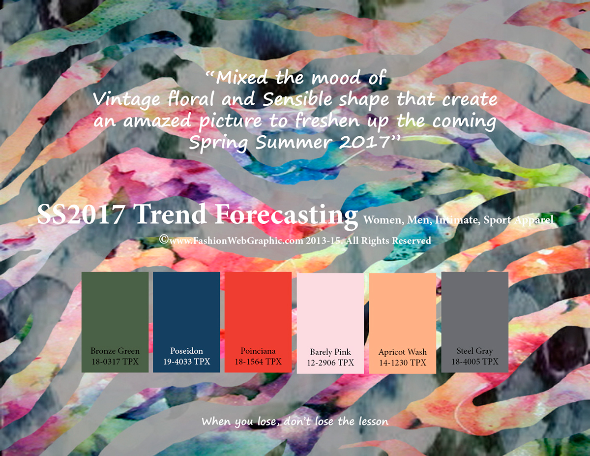 2017 fashion trends wgsn - Ss2017 Trend Forecasting On Behance