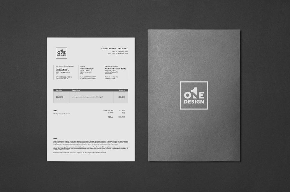 Adobe Portfolio logo One design gestalt negative space brand corporate image identity Logotype letterpress business card Stationery type brand identity