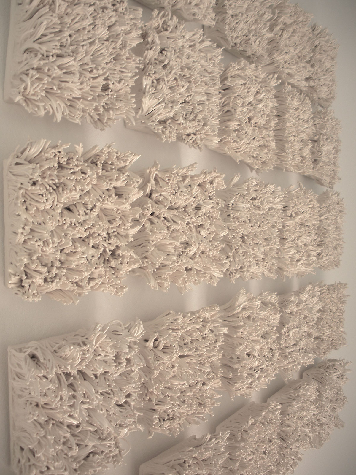 Ceramic Tile Installation : Bloom ceramic tile wall installation on behance