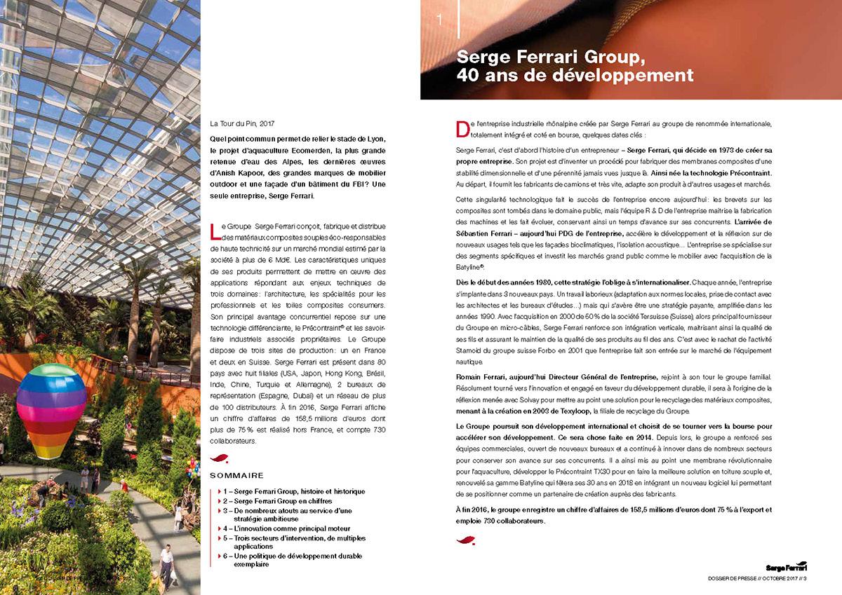 Entreprise D Architecture Lyon serge ferrari on behance