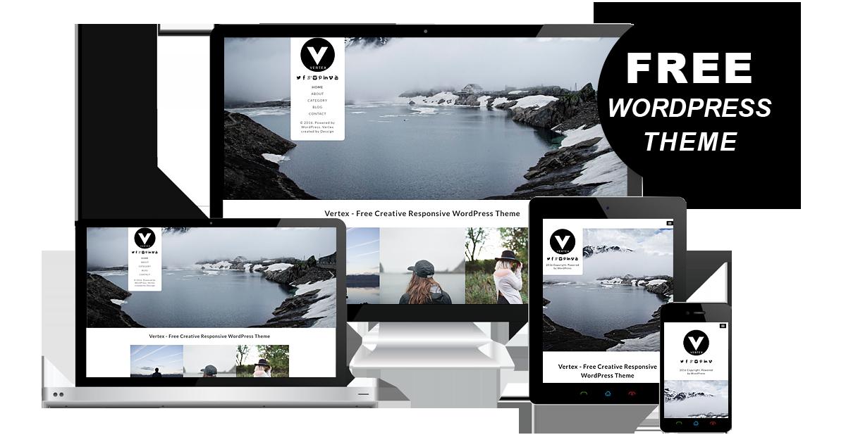 30+ Free WordPress Portfolio Themes 2017 on Behance