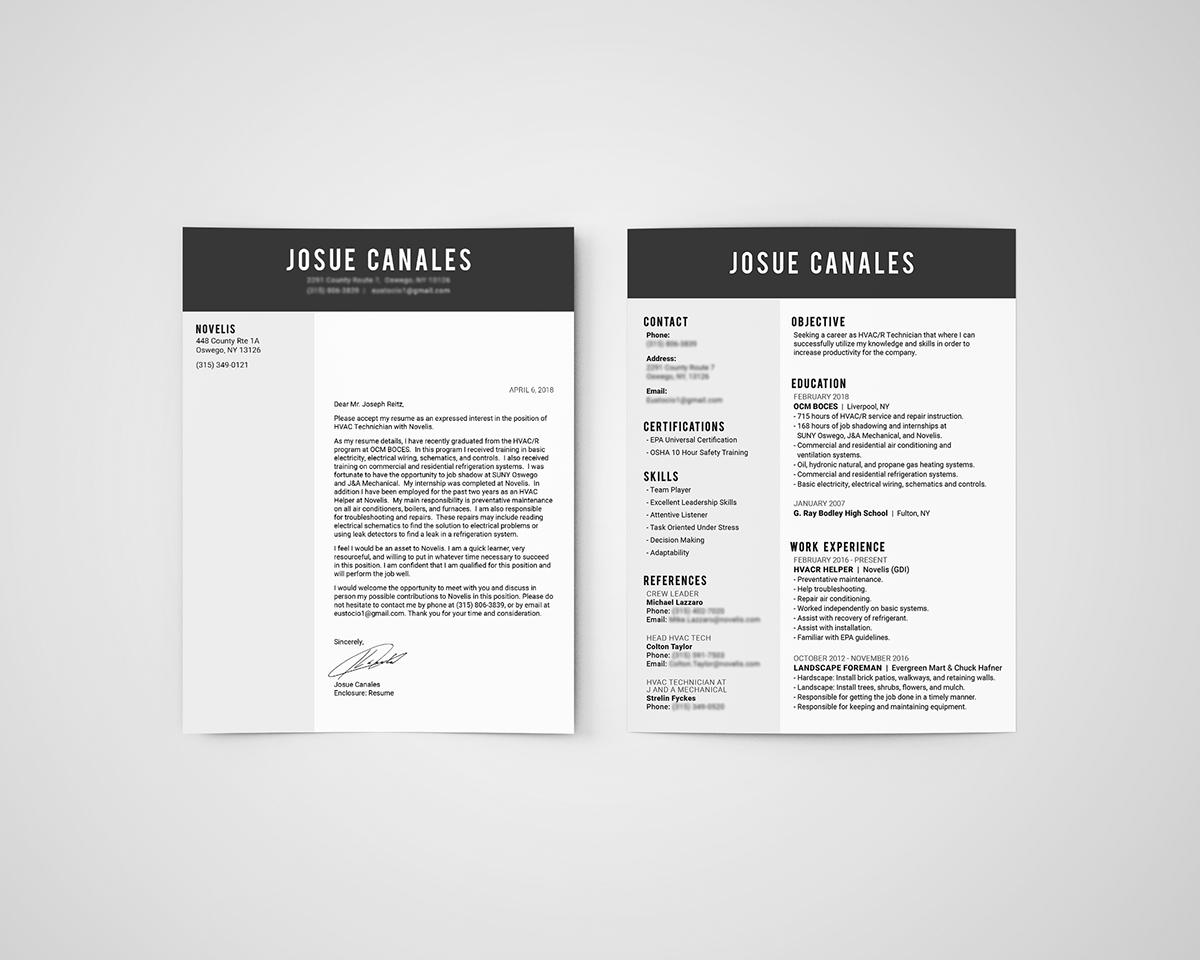 Resume Design On Behance
