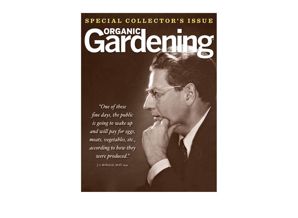Organic Gardening Final Issue on Behance