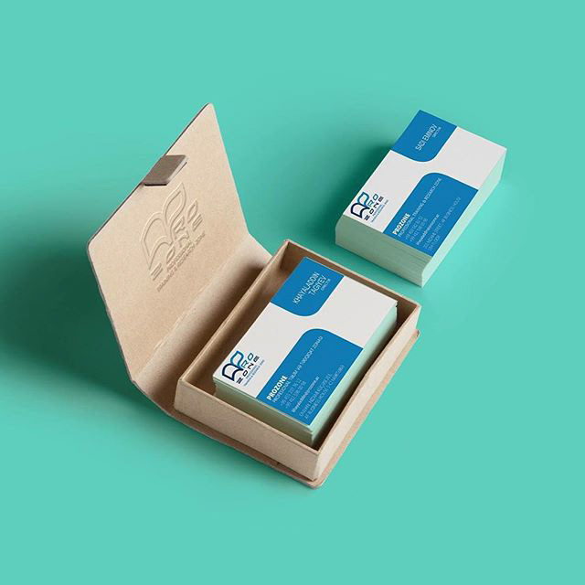 print design  graphic design  business card