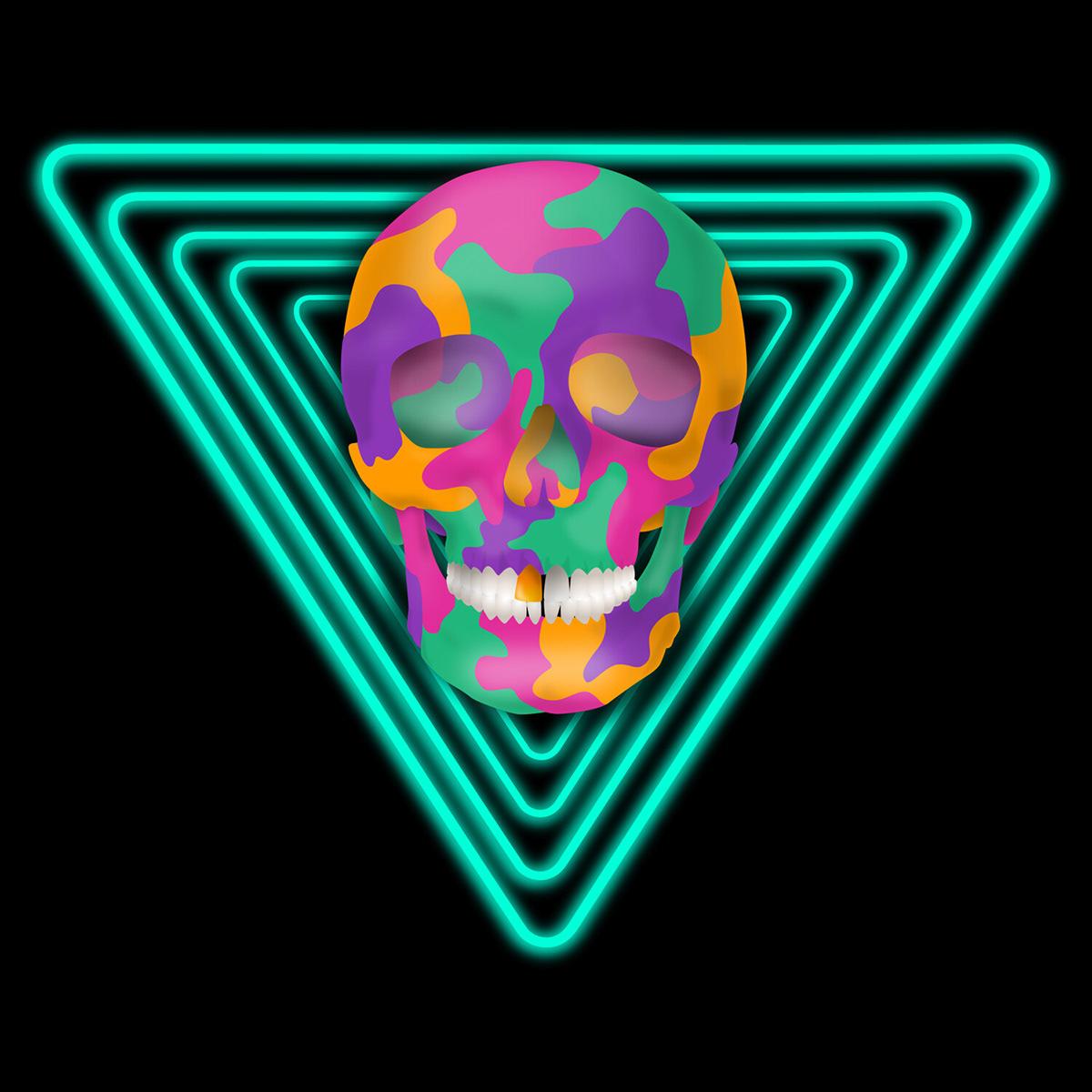 Image may contain: skull, screenshot and cartoon
