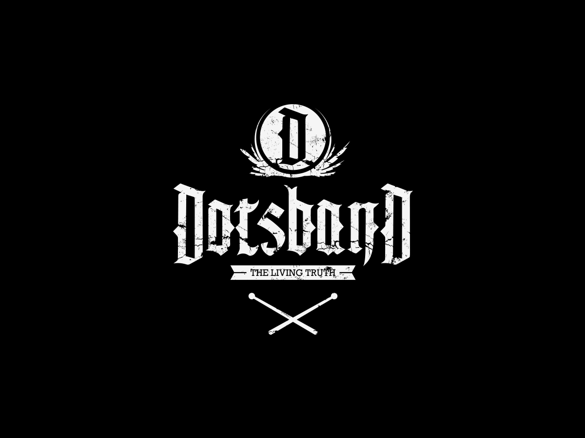 logo for the rap group dotsband on behance