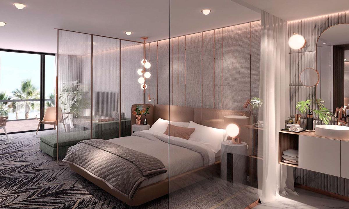 Studio suite hotel room on behance for Studio interior design brescia