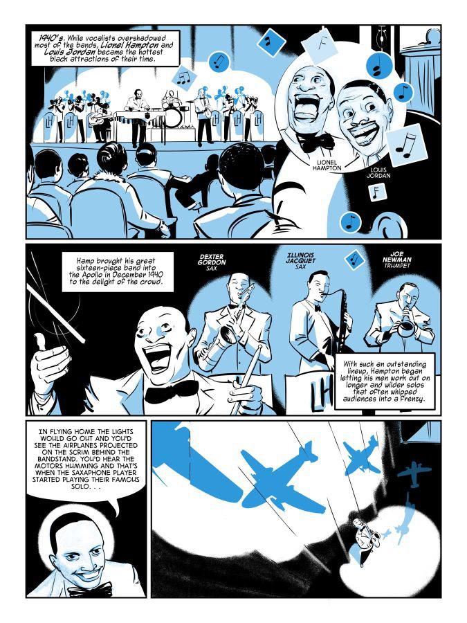 music Black History American History Funk soul James Brown Harlem comics Graphic Novel abrams