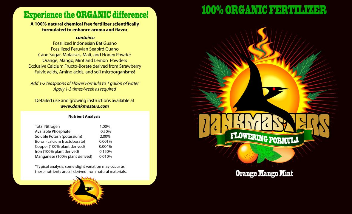 Dankmasters Marijuana Fertilizer Packaging on Behance