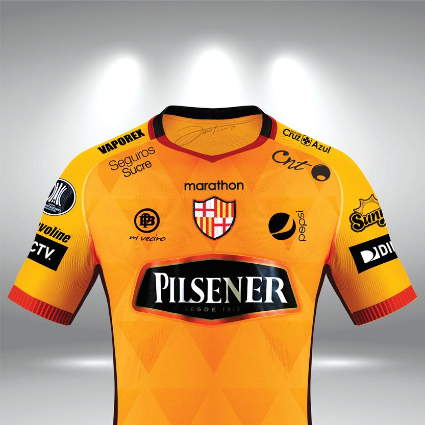 timeless design b2feb 65ce2 Camiseta Barcelona SC 2018 on Behance