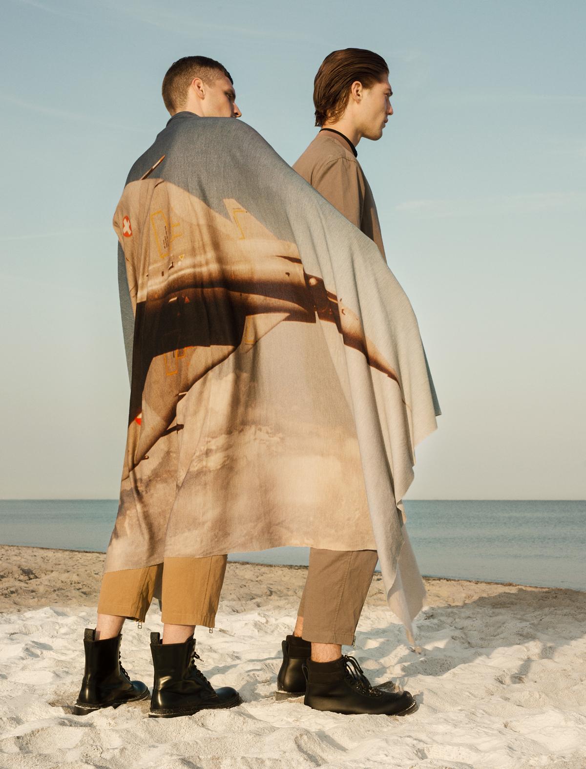 Fashion ,set design ,Photography ,editorial,Seaside,l'officiel hommes,Sabrina Theissen,Christian Stemmler,Kristine Alksne,berlin