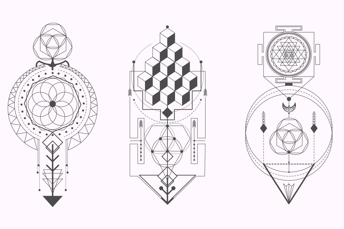sacred geometry magic totem vol 2 on behance