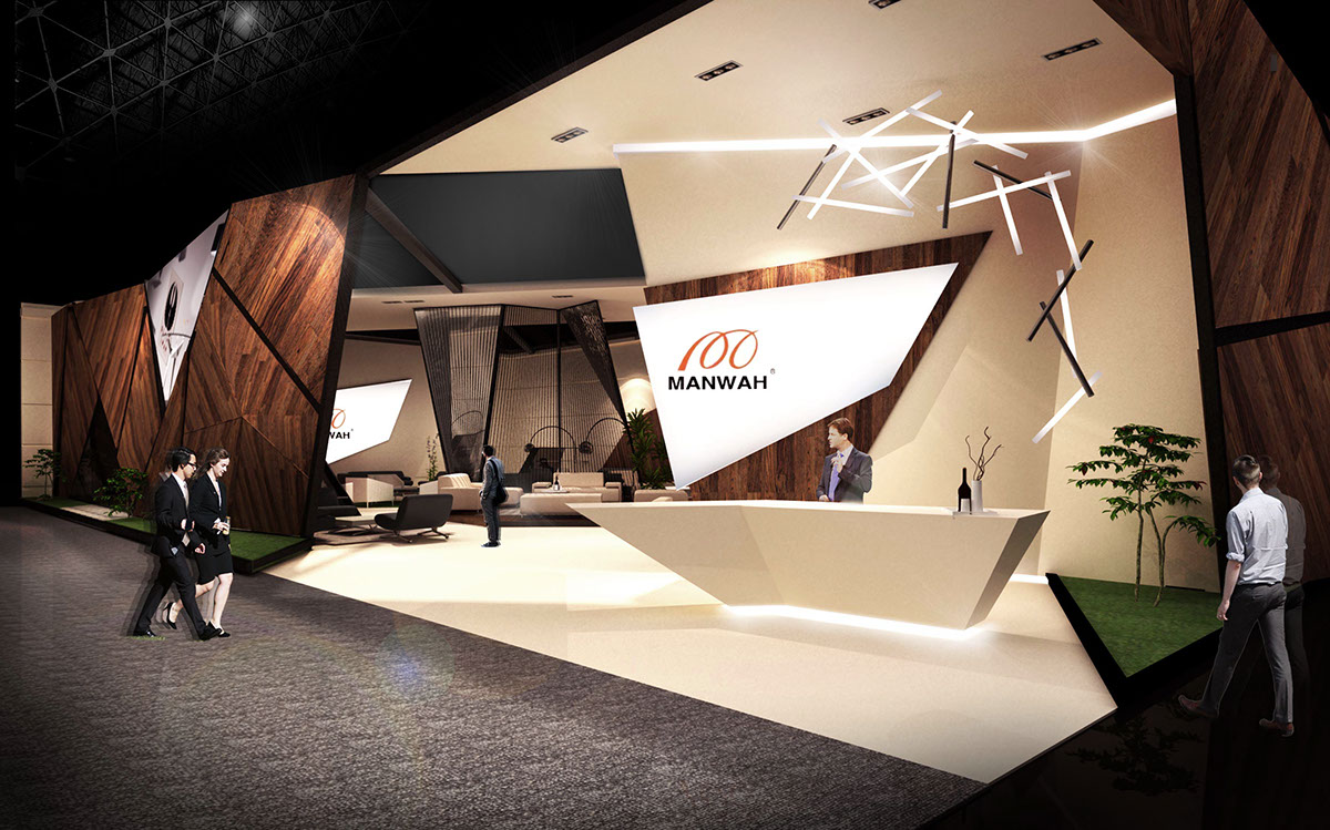 recipient of gold award for stand design in shanghai furniture fair