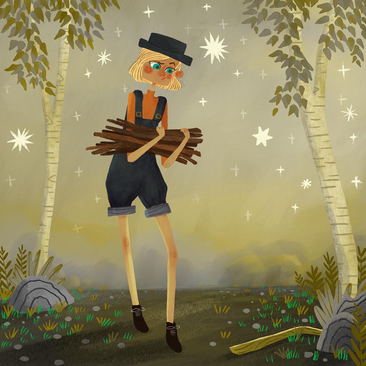 character illustration children's art children's illustration kidlit kidlitart story book art