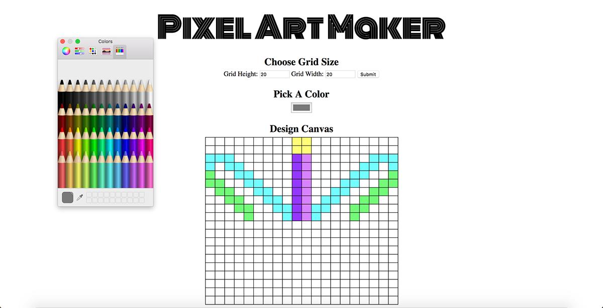 Pixel Art Maker on Behance