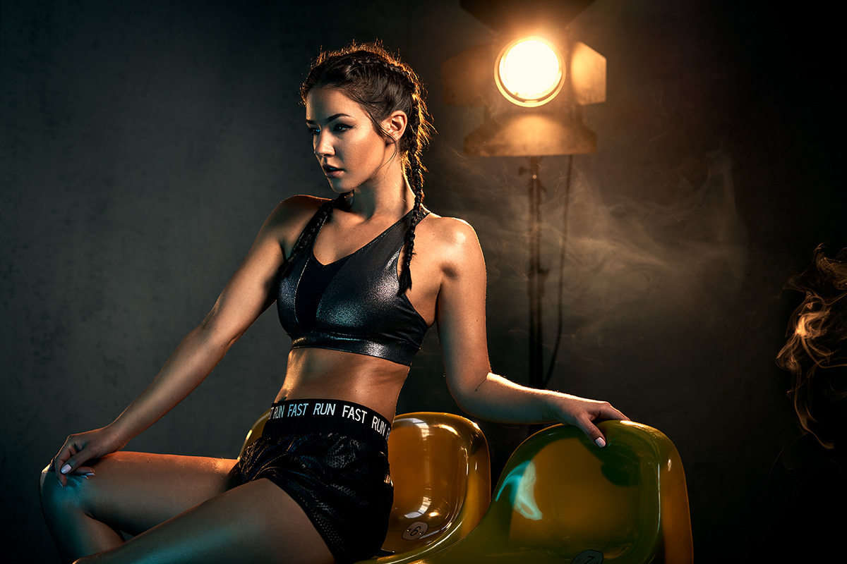 Photography  fitness editorial sportsphotography studio lighting commercial