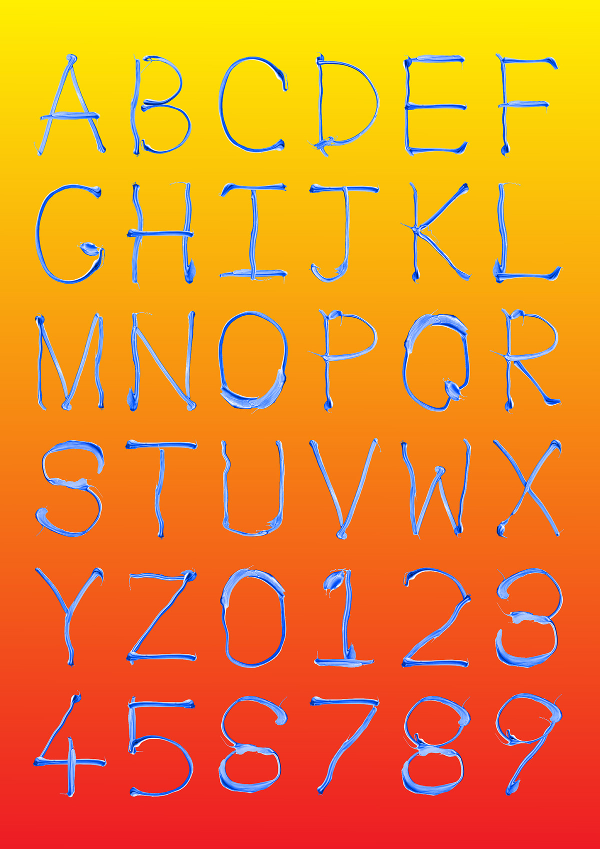 font graphic design  star wars type Typeface typography   galaxys edge gradient Liquid New Zealand