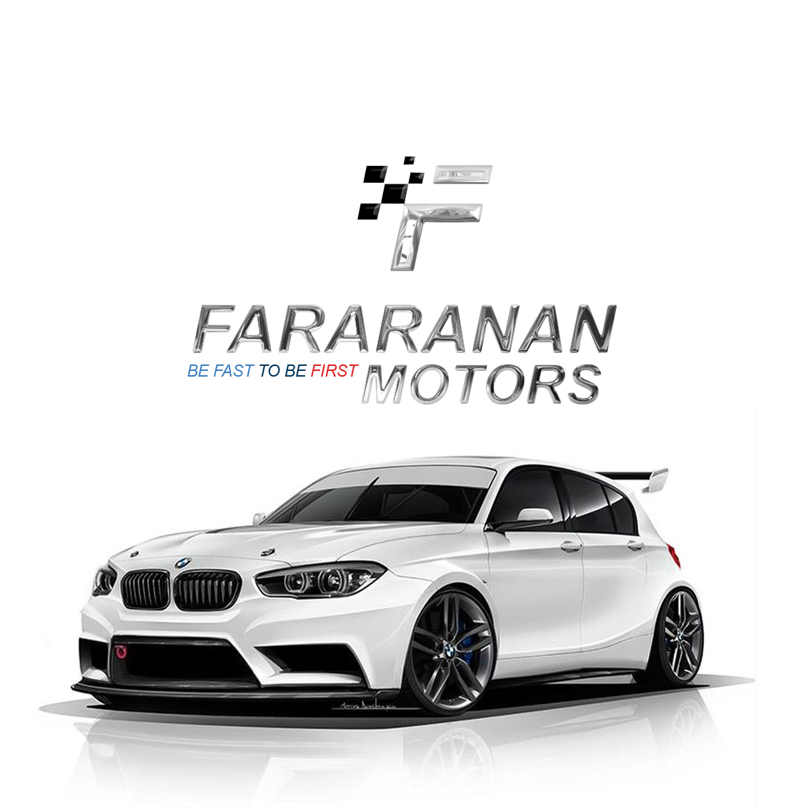 Auto automobile fast logo Motor sports Performance race Racing sports car