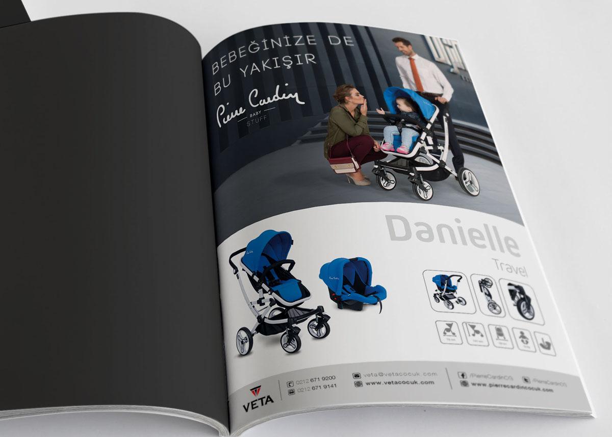 Pierre Cardin Bebek Gereçleri dergi ilan